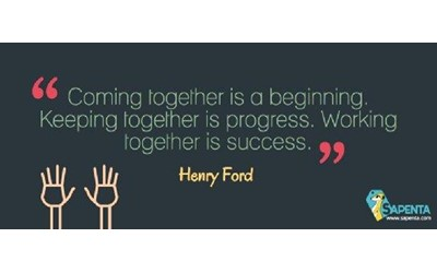 Henry FORD: Coming Together....