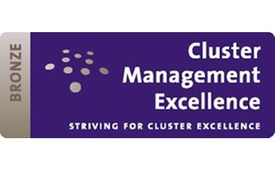 European Cluster Excellence Bronze Label Certificate